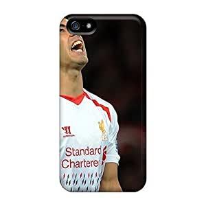 Fashion PC Case Cover For HTC One M9 The Best Football Player Of Liverpool Luis Suarez Missed Goal