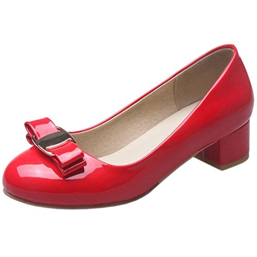 COOLCEPT Damen ohne Verschluss Pumps Red