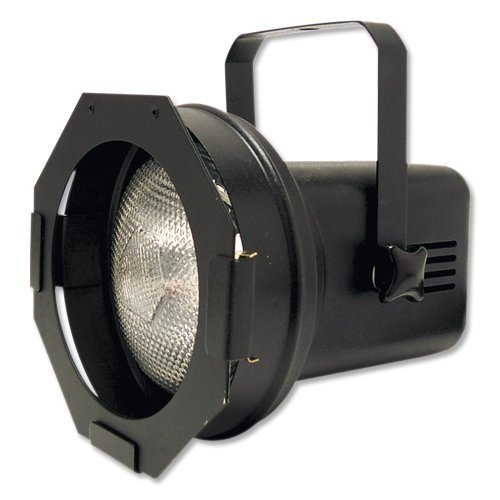 Eliminator Lighting STAGE LIGHT, 7.00in. x 7.00in. x 8.00in. (Par 38 Black with lamp)