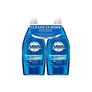 Best Epic Trends 41Z05J9zpAL._SS300_ Dawn Ultra Dishwashing Liquid Detergent Dish Soap 3X Grease Cleaning Power, 2 Pack, 24 oz