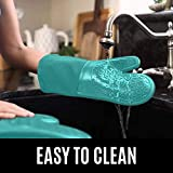 HOMWE Professional Silicone Oven Mitt, Oven Mitts