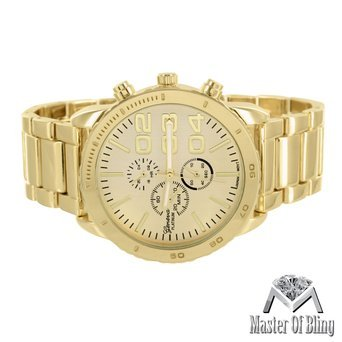 mens-gold-tone-watch-three-3-time-zone-dial-45mm-stainless-steel-back-party-wear