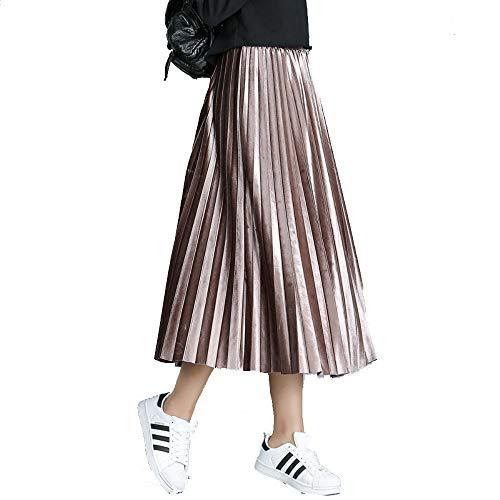 Hiver mi Jupe Women's 2018 Automne plisse Longueur la Caf Orgue la moiti Jupe de aqqt5pAx