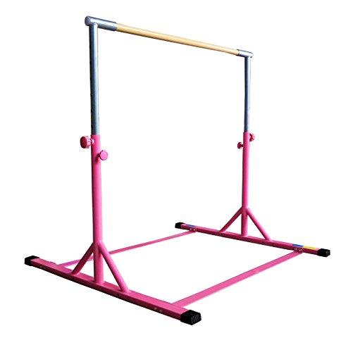 Z-Athletic Gymnastics Expandable Kip Bar (Pink)