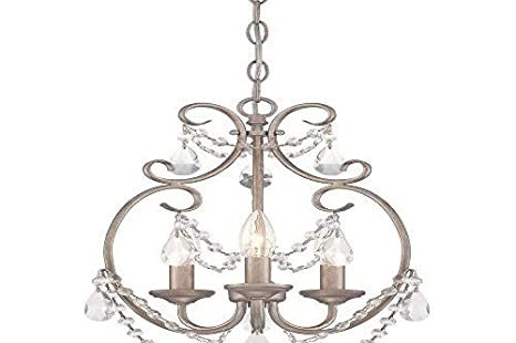 brand new dfef5 f039a Designers Fountain 6205-AP Dahlia 3 Light Mini Chandelier