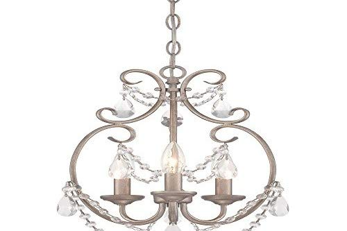 Designers Fountain 6205-AP Dahlia 3 Light Mini ()