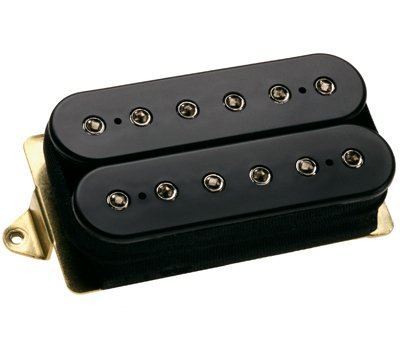 DiMarzio DP220BK D Activator Bridge Humbucker Black w/ Bonus RIS Picks (x3) 663334027619