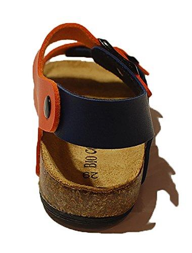 BIO COLORS - abertura en tobillo para chico Arancio