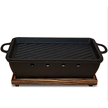 Amazon.com: Parrilla de carbón barbacoa parrilla de carbón ...