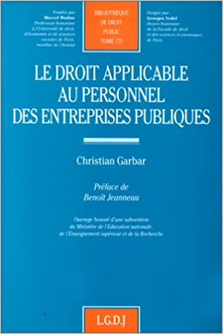 En ligne téléchargement gratuit Le droit applicable au personnel des entreprises publiques pdf ebook