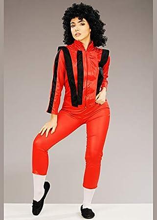 Magic Box Disfraz de Thriller Estilo Michael Jackson para Mujer ...