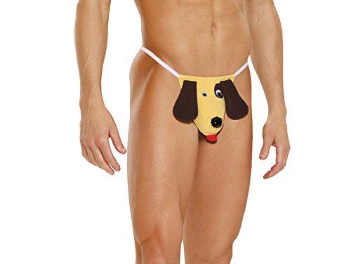[Men's Dog Pouch Novelty Underwear] (Hot Dog Costume Women)