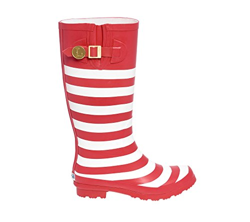 Lillybee White and X U Rainboots Red Initial Cx1zSw0xRq
