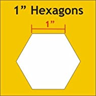 "Paper Pieces 1"" Hexagon Templates Set of 100"