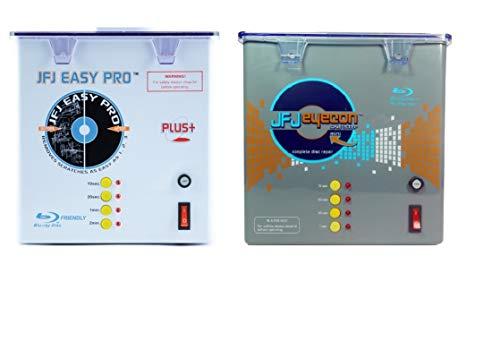 JFJ One-Step Eyecon Mini Video Game, CD, DVD, Blu-Ray Repair Machine with JFJ Easy Pro Video Game, CD, DVD, Blu-Ray Repair Machine 110V