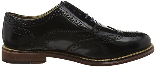 Ben Sherman Oxford Brogue, Zapatos de vestir Hombre Negro (Black 001)