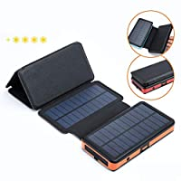 Solar Power Bank, Qi Certified Wireless ...