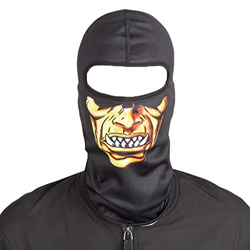 Koolsants 2019 New Face Mask, Balaclava Ski Mask, Motorcycle Helmets Liner Ski Gear Neck Gaiter, Print Series Quick-Dry Mask