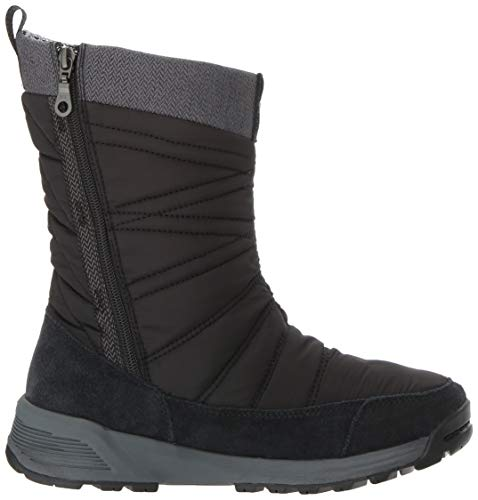 Women's Calf 3D Heat Meadows Boot Black Slip Columbia Dark Stone on Mid Omni TxgSwwqnd