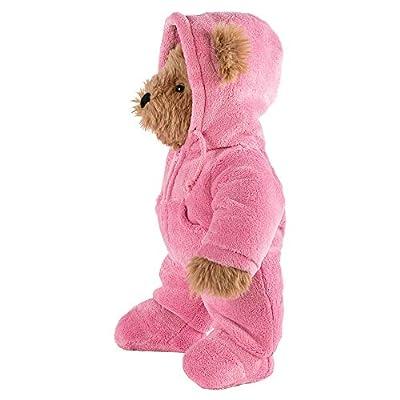 Vermont Teddy Bear Stuffed Animal - Pink Teddy Bear, 18 Inch, Brown, Super Soft: Toys & Games
