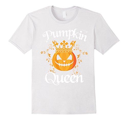 Mens Halloween Pumpkin Shirt | Queen Costume T Shirt Gift Idea Medium (White Queen Costume Ideas)