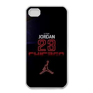 iphone4 4s Phone Case White Air Jordan UYUI6801012
