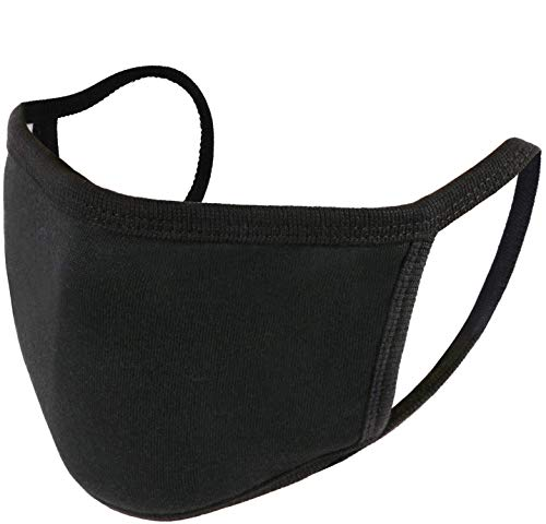 Unisex, washable and reusable Face Shield with Elastic Ear Loop Cover Full Face Anti-Dust