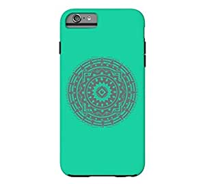 Abstract Sun iPhone 6 Plus Caribbean green Tough Phone Case - Design By FSKcase?