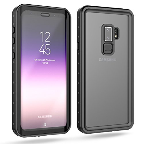 Samsung Galaxy S9 Waterproof Case, Tomplus ShockProof, SnowProof, DustProof IP68 Certified Waterproof Case for Samsung Galaxy S9