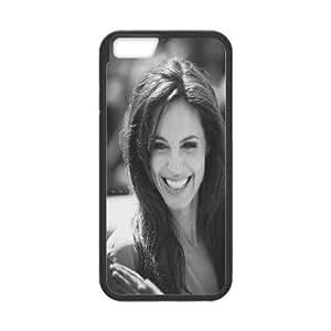 [Angelina Jolie] Angelina Jolie. Case for IPhone 6 Plus, IPhone 6 Plus Case {Black}