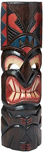 "FOREVER BAMBOO MASK20-13 Hawaiian Tiki Mask, 20"", Love"