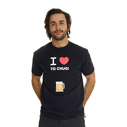 Mens Digital Dudz I Love to Chug T-Shirt Costume - XL (46