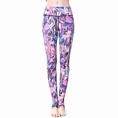 Wuyulunbi@ Frauen Strumpfhosen hohe elastische Fitness Sport Yoga Leggings Größe S-XL