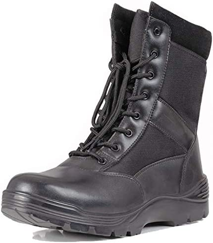 Unisex Combat Military Boots leichte Patrol Ankle Boots Bergsteigen Sicherheit Armee Schuhe Durable Wanderschuhe