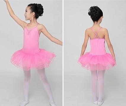 Falda del tutú de la formación/Ballet Ballet niñas, 150cm, Pink ...