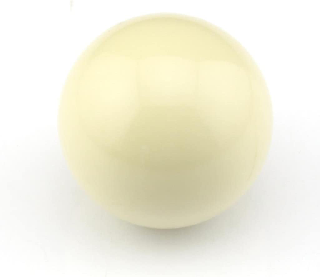 Snooker Billiard Cue Ball 2 Inch White by Owfeel(TM): Amazon.es: Deportes y aire libre