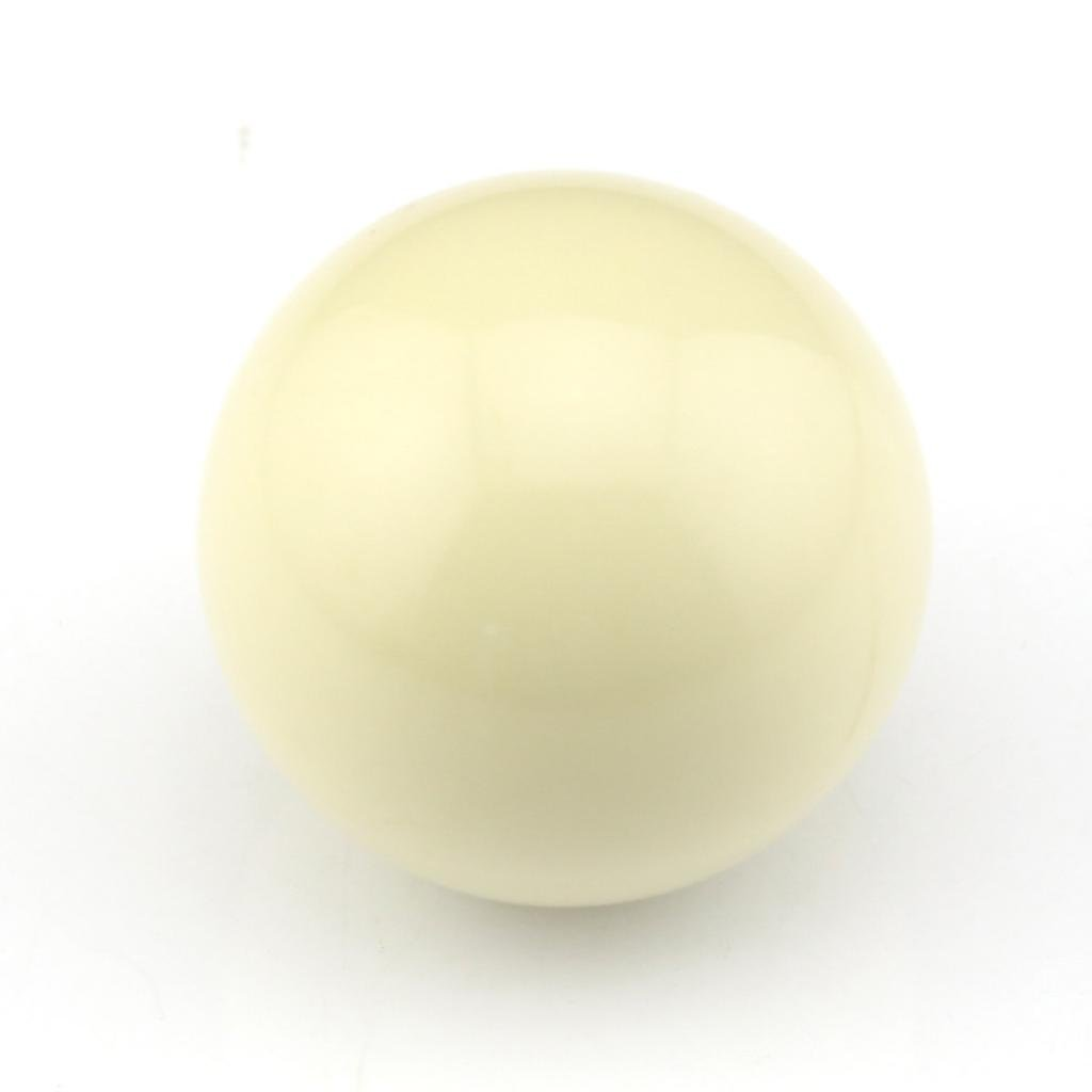 Snooker Billiard Cue Ball 2 Inch White by Owfeel(TM)
