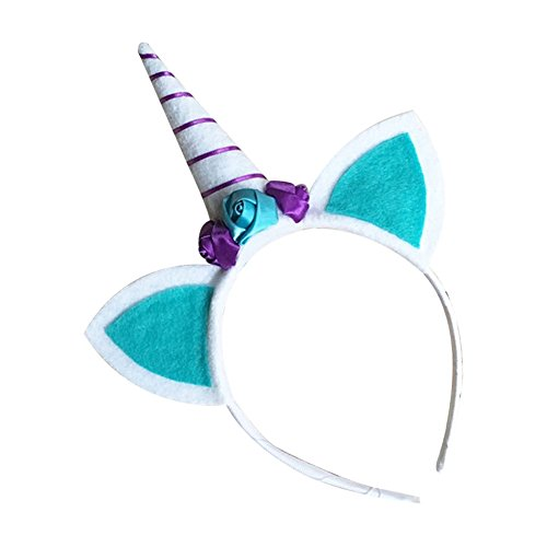 BUYITNOW Girls Unicorn Headband Kids Cat Ear Hair Hoop Birthday Party  Headwear - Buy Online in Oman.  102f2120eacd