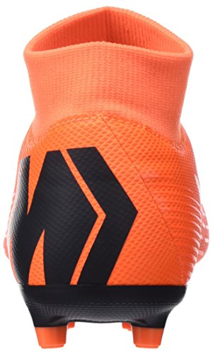 Academy Nike Hombre para Black Superfly Orange Zapatillas Mercurial Multicolor t de Fútbol MG Total 810 Vi Otr8tUz