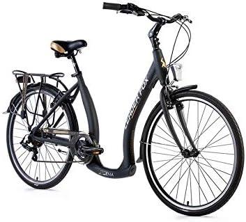 26 pulgadas aluminio Mujer City Bike Leader Fox Ema bicicleta ...
