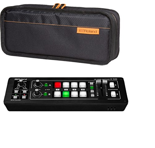 Portable Video Mixer - Roland V-1HD portable HD video switcher bundle with CB-BV1 carry bag
