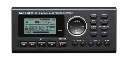 Tascam Bass Trainer - Tascam GB-10 Guitar/Bass Trainer With Recorder