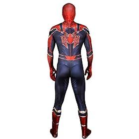 - 41Z0FGdZNjL - Unisex Halloween Fullbody Elastic Bodysuit Zentai Cosplay Costume Adult/Kids 3D Style
