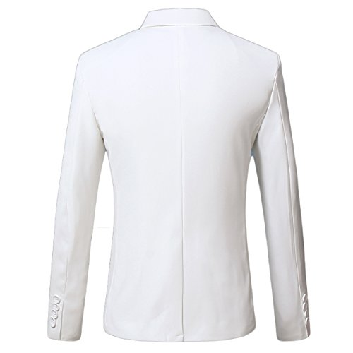 Uni Costume Mirecoo Homme Blanc Manches Longues 5franr0