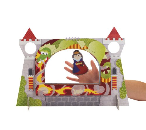 (Manhattan Toy Royal Court Castle Finger Puppet Theater Plush)