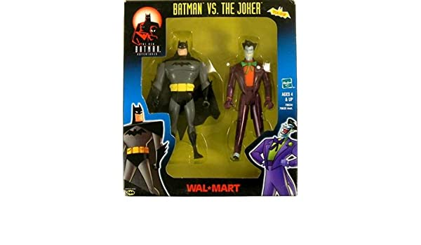 BATMAN VS JOKER ANIMATED WALMART EXCLUSIVE 2-PACKK by Batman by Hasbro: Amazon.es: Juguetes y juegos