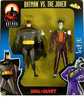 BATMAN VS JOKER ANIMATED WALMART EXCLUSIVE 2-PACKK by Batman by Hasbro