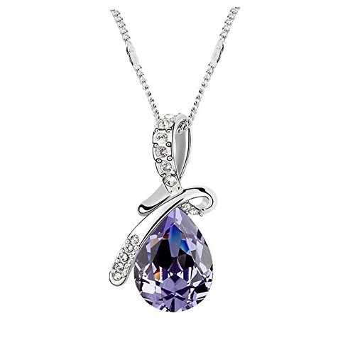 MSsmart(TM) Swarovski Elements Crystal Heart Pe...