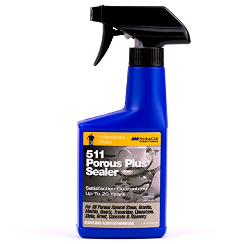 Miracle Sealants 511 Porous Plus 237ml spray (US 8oz) The Best Performing Penetrating Sealer on the Planet by Miracle Sealants (Us-511)