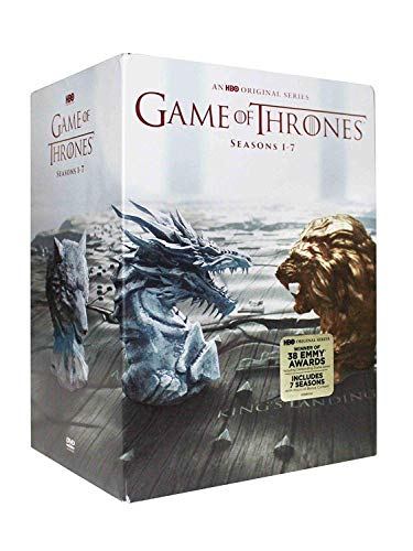Complete Game of Thrones Seasons 1-7 (DVD, 34-Disc - Throne Package